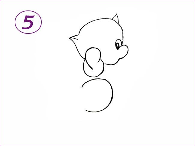 котенок шаг 5