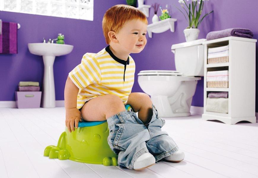 как приучить ребенка мальчика к горшку