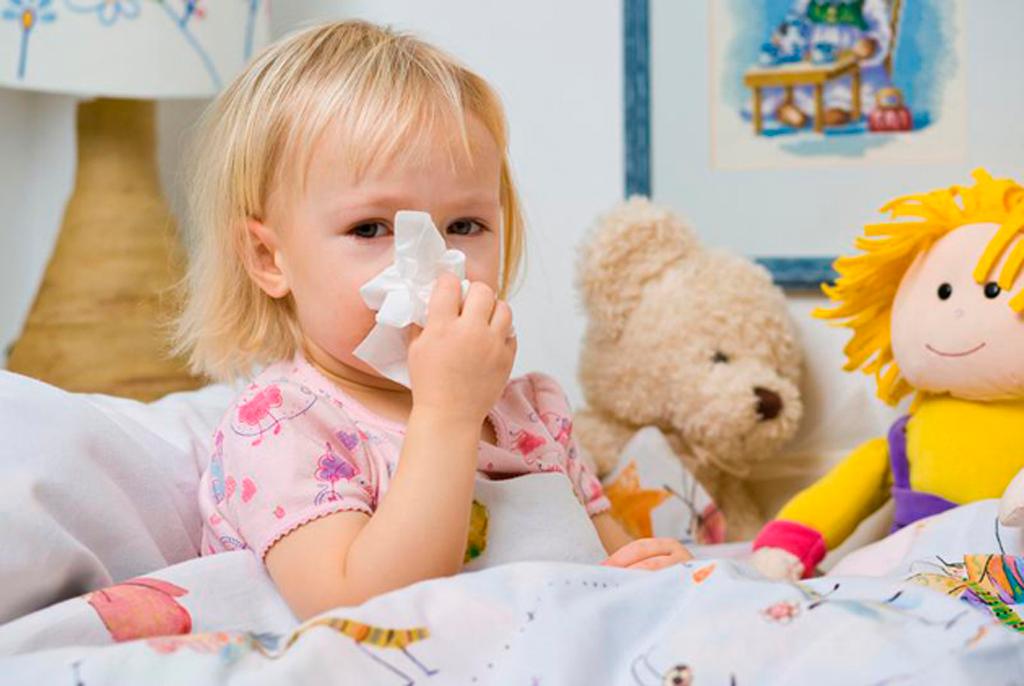 Аптечные и народные средства от насморка для детей