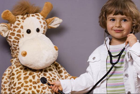мальчик с фонендоскопом