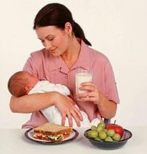 питание при грудном вскармливании