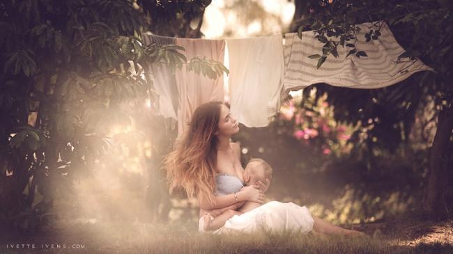 красивое кормление грудью ребенка