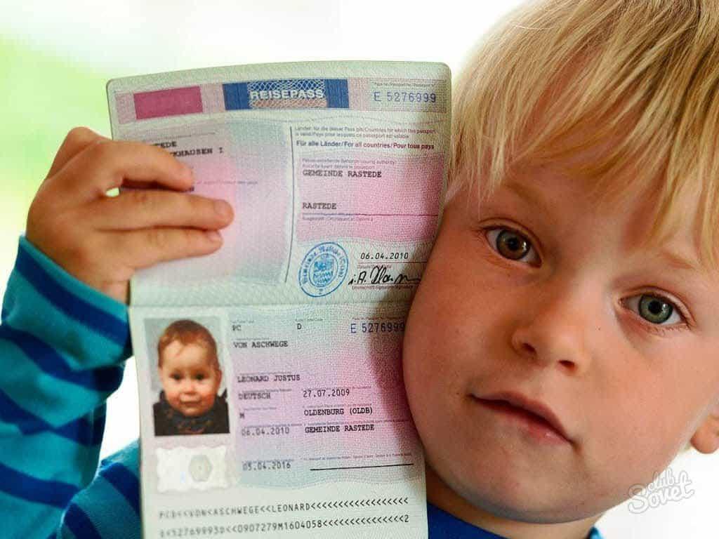 Заграничный паспорт для ребенка до 14 лет: документы, оформление