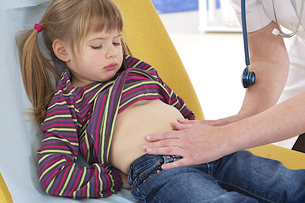 обезболивающее для детей при боли в животе